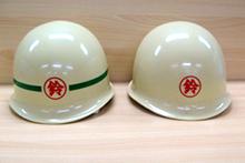 初代ヘルメット鳶土工