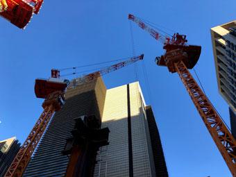 タワークレーン組立・解体工事
